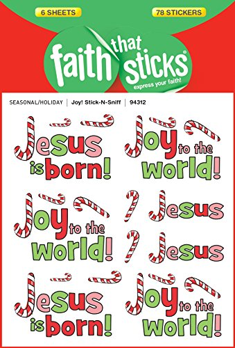 Joy! Stick-n-sniff (Faith That Sticks Stickers)