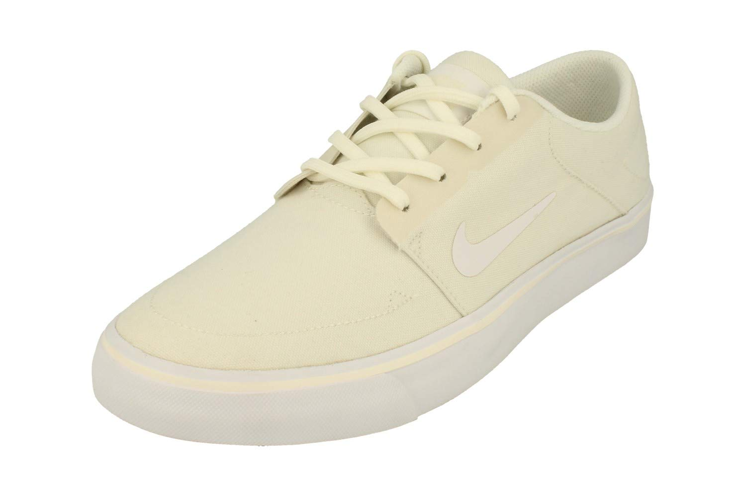4ae22b3e35d3d Galleon - Nike SB Portmore Canvas Mens Trainers 723874 Sneakers Shoes (UK 6  US 7 EU 40, Sail White 111)