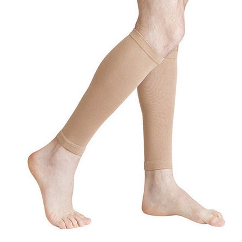 FAVOLOOK Chaussettes de contention pour femme anti fatigue lutter contre varices et t/élangiectasies ne recouvrant pas les pieds pour soulager les gonflements pour une meilleure circulation du genoux /à la cuisse ou du mollet au genoux