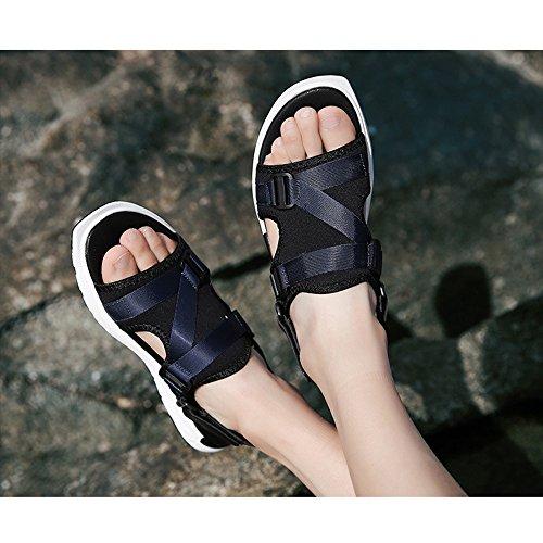 Black Sandali 3 Blue Size 1 spiaggia regolabili estivi antiscivolo da 41 Color EU x4v4qYrSw