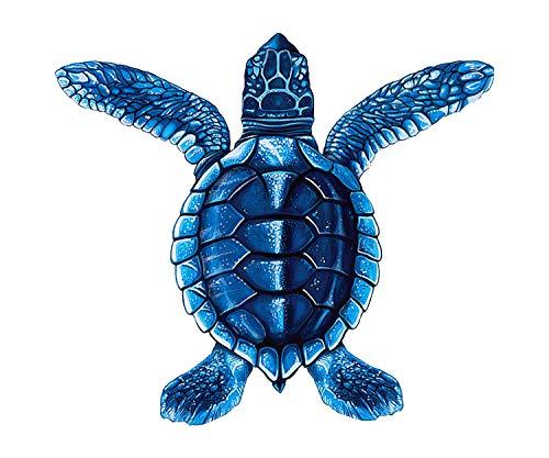 PORC-ST20A-BL Baby Turtle A (Blue) 5