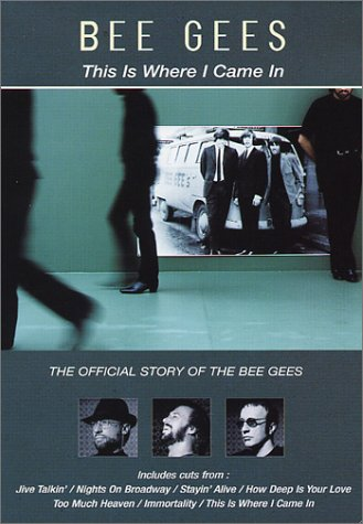 Singing Dvd Bee - This Is Where I Came In - The Official Story of the Bee Gees