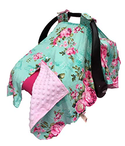 - Rosy Kids Infant Carseat Canopy Cover 1pc Wind Proof Baby Car Seat Cover, Sunshade Cover, Boys and Girls, Fits Any Baby Car Seat, Color27AL03