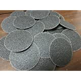"25pc 2"" 80 GRIT ROLOC COOKIE DISCS SILICON CARBIDE SANDING DISC ROLL LOCK TYPE R"