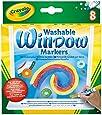 Crayola 8 Count Washable Window Markers