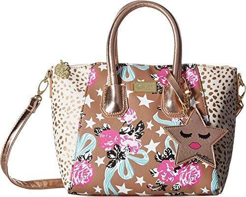 Designer Handbag Gigi - Luv Betsey Women's Gigi Satchel Taupe/Turquoise One Size