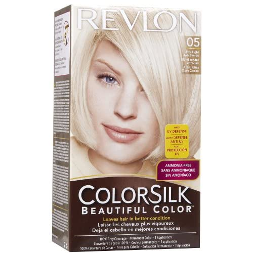 Revlon ColorSilk Beautiful Color, [05] Ultra Light Ash Blonde 1 ea (Pack of 4) outlet