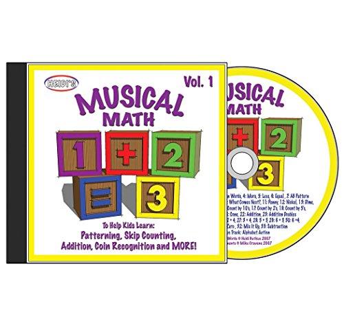 Musical Math: Volume 1 CD (Math Cd)