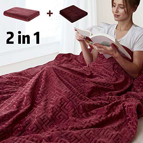 Cheap MerryLife Weighted Blanket 20 lbs 60