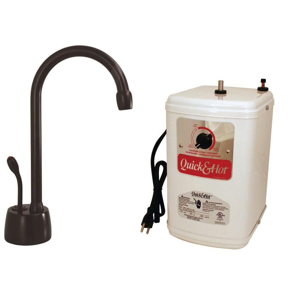 Westbrass D271H-12 Velosah Single Handle Instant Hot Water Dispenser ...