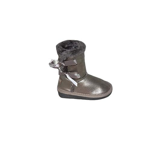Botas de niños CANGURO en Piel Gris C57414-ARG  Amazon.es  Zapatos y  complementos e85372d0154