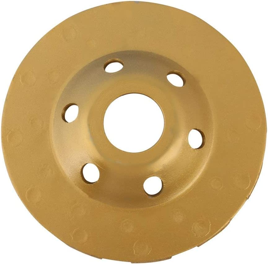 Marble Grinding Wheel-10cm Diamond Segment Grinding Wheel Disc 6 Holes For Marble Concrete Stone