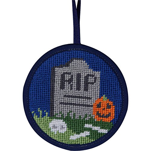 Alice Peterson Stitch-Ups R.I.P. Rest in Peace Needlepoin...