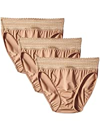 Women's No Pinching No Problems Tailored Brief 3 Pack Panties