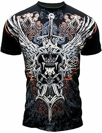 Konflic men 39 s konflic acttis men 39 s eagle for T shirt printing downtown los angeles