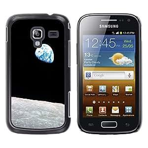 - Moon Night - - Monedero pared Design Premium cuero del tirš®n magnšŠtico delgado del caso de la cubierta pata de ca FOR Samsung GALAXY Ace 2 I8160 Funny House