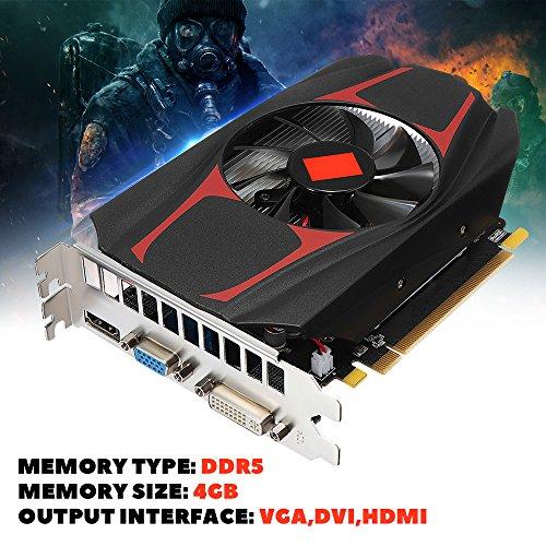AMD HD7670 Graphics Card, 4GB GDDR5 128Bit Pci-Express Indep