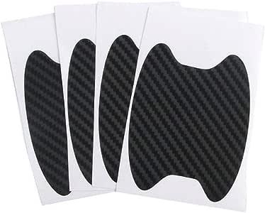 4 piezas Mgsiko protecci/ón antiara/ñazos Protector para tiradores de puerta de coche