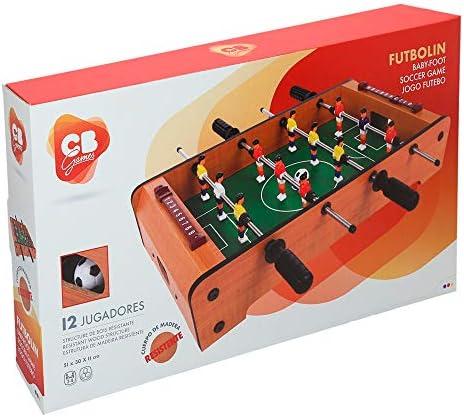 ColorBaby - Futbolín madera para mesa CBGames (28513): Amazon.es ...