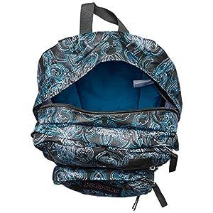JanSport Big Student Backpack- Discontinued Colors (Multi Ornate Blues)