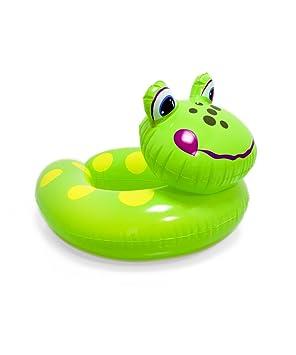 Ongemo Flotador (froschi Modelo Abierto, diámetro Aprox. 40 cm: Amazon.es: Juguetes y juegos