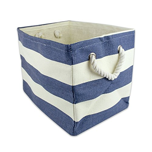 DII Oversize Woven Paper Storage Basket or Bin, Collapsible & Convenient Home Organization Solution for Office, Bedroom, Closet, Toys, & Laundry (Large - 17x15x12