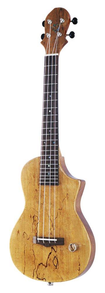 Big Island Ukulele HONU Electric Bass Ukulele Series アカシアトップ EBU-ACA-N B0756Z3SJH エレキベースウクレレ|アカシア  エレキベースウクレレ