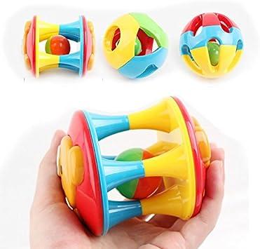 3 Anni in plastica Delidraw sonaglio Rolling Ball Toy Intelligence Training per 0 Sonaglino per Bambini