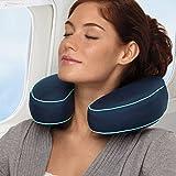 Brookstone BioSense Neck Travel Pillow