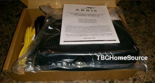 Arris Touchstone TM1602A DOCSIS 3.0 Upgradeable 16x4 Telephony Modem for TWC & OPTIMUM