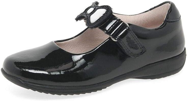 Lelli Kelly colourissima Filles Noir Verni École chaussure