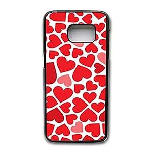 Samsung Galaxy S7 Edge Phone Case Artistic Conception Design Cover Case Red Love Heart Logo Back Cover for Samsung Galaxy S7 Edge