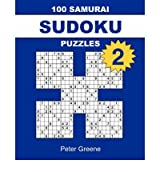 [ [ [ 100 Samurai Sudoku Puzzles 2[ 100 SAMURAI SUDOKU PUZZLES 2 ] By Greene, Peter ( Author )Sep-01-2006 Paperback