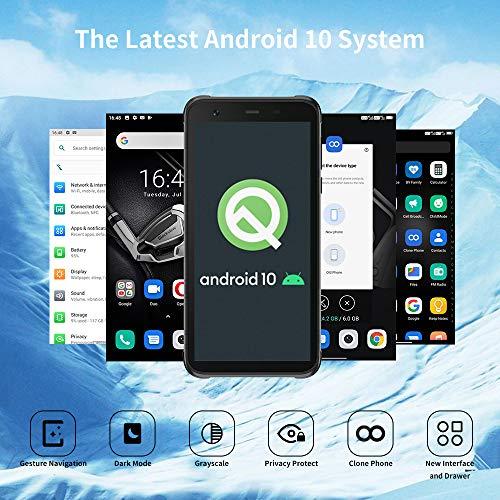 Telephone Portable Incassable, Blackview® BV6300 Pro Smartphone Débloqué 4G (Quad Caméra 16MP, Android 10, Helio P70… 3
