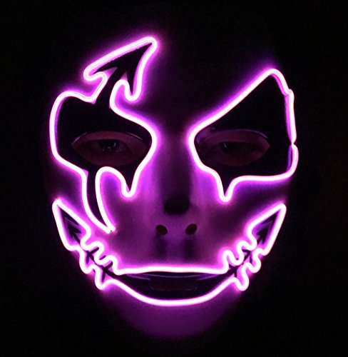Led Light Up Mask - 7
