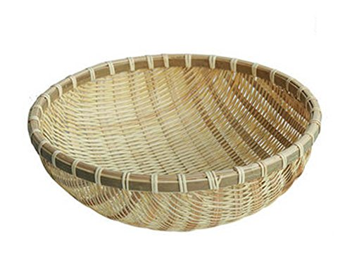 Country Style Bamboo Fruits And Vegetables Baskets Bamboo Bunches Baskets