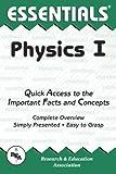 Physics I Essentials, Research & Education Association Editors, 0878916180