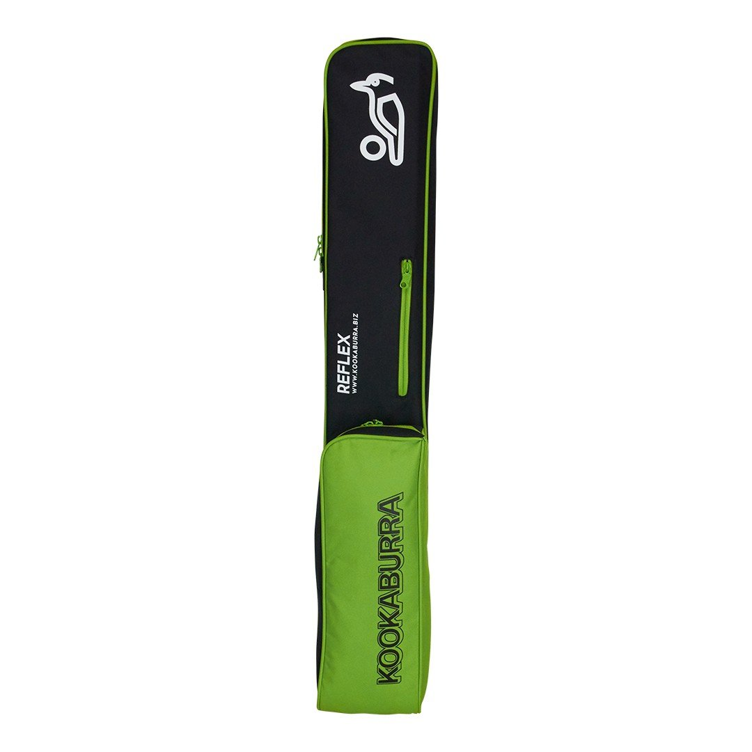 Kookaburra - Bolsa para palos de hockey, unisex, negro y verde Kookaburra Hockey