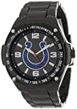 Game Time Unisex NFL-WAR-IND Warrior Indianapolis Colts Analog 3-Hand Watch