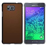 TopCaseStore / Snap On Hard Back Shell Rubber Case Protection Skin Cover - Simple Pattern 20 - Samsung GALAXY ALPHA G850