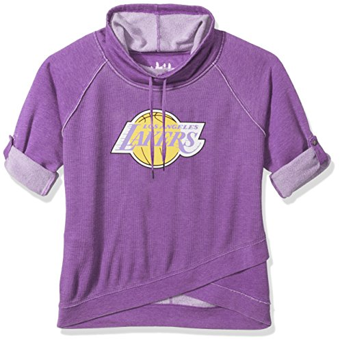- Touch by Alyssa Milano NBA Los Angeles Lakers Wildcard Top Plus, 1X, Purple