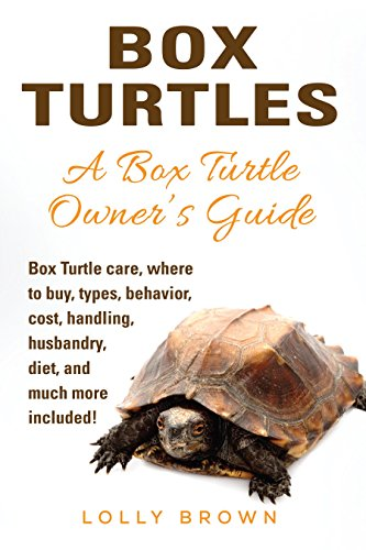 Box Turtles: Box Turtle care, where to buy, types, behavior, cost, handling, husbandry, diet, and much more included! A Box Turtle Owner's Guide by [Brown, Lolly]