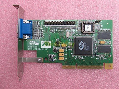 ATI 3D Rage IIc 4MB SDR 64-Bit VGA/D-SUB AGP 2X Desktop Video Card 109-49300-01