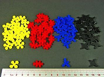 Litko Game Accessories LITKO Virus Token Upgrade Set para Pandemia (96): Amazon.es: Juguetes y juegos