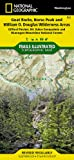 Goat Rocks, Norse Peak and William O. Douglas Wilderness Areas [Gifford Pinchot, Mt. Baker-Snoqualmie, and Okanogan-Wenatchee National Forests] (National Geographic Trails Illustrated Map)