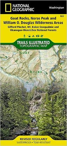 Goat Rocks, Norse Peak and William O. Douglas Wilderness Areas ...