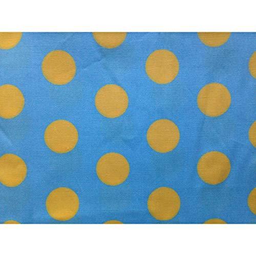 turchese Unique fazzoletto Mouchoir Boutique Un Femme con neri vita puntini Multicolore xSC0xaq