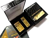 The British Gold Company 24Kt Gold Usb Memory Stick 4Gb High Quality Pen Drive Set With 1 Ounce Bullion Bar In Luxury Case With Certificate