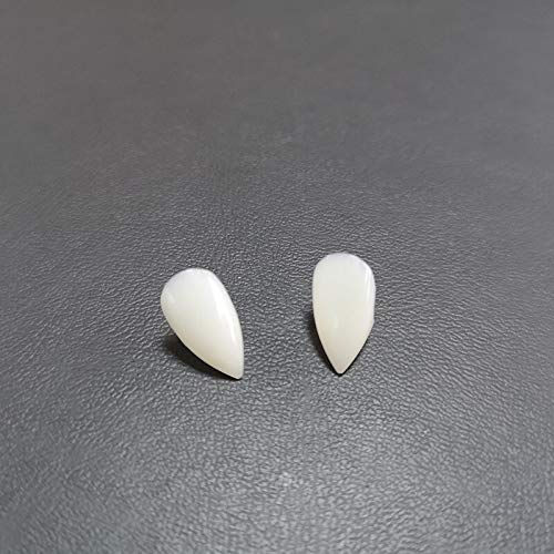 4 Size Vampire Teeth Fangs Dentures Props Halloween Costume Props Party Favors Holiday DIY Decorations Horror Adult for Kids -