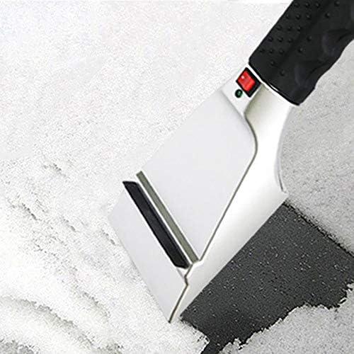 changchunST 加熱可能な雪のシャベル 車のシガーライター雪のシャベル スノーシャベル 雪かき 12V車用 携帯便利 延長電源コード 多機能 車に傷つけません 雪対応 アウトドア 除雪、車載、キャンプ、庭用